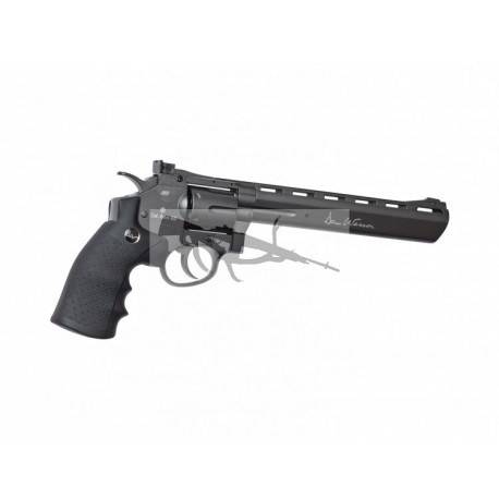 "Revolver Dan Wesson 8"" Gris - 6 mm Co2"