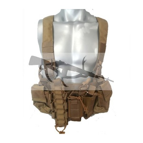 CHALECO IMMORTAL WARRIOR CHEST RIG COMBAT 1000D