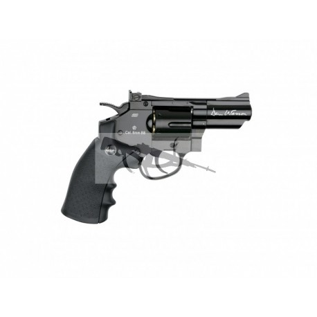 "Revolver Dan Wesson 2,5"" Negro - 6 mm Co2"