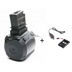 CARGADOR DRUM ELECTRICO G36 1000 RDS