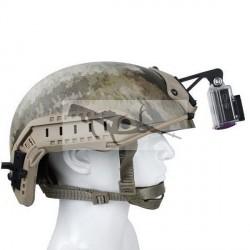soporte de cámara para casco