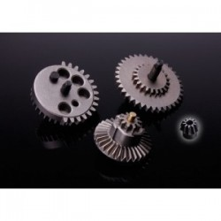 SRC HI-SPEED GEAR SET+CNC STEEL MOTOR GEAR