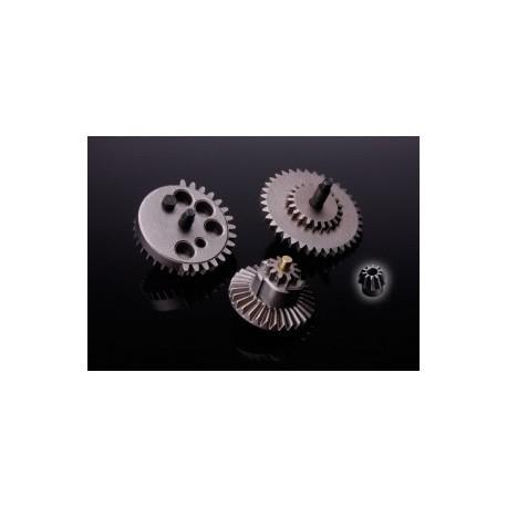 SRC HI-SPEED GEAR SET+CNC STEEL MOTOR GEAR
