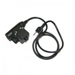 Z-TACTICAL CONECTOR U94 PTT DE BOWMAN PARA KENWOOD 2 PIN